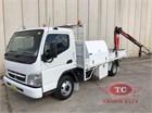 2010 Mitsubishi Canter 3.5 Crane Truck