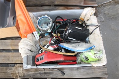 BOX W/ ELECTRICAL SUPPLY Other Auction Results - 1 Listings
