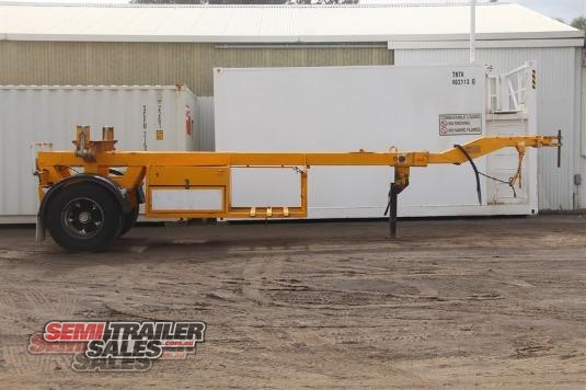 2007 Haldika Single Axle Telescopic Pole Jinker Semi Trailer Sales - Trailers for Sale
