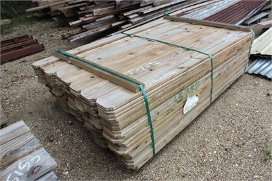 Bundle Of Approx  (216) 5/8X6x6 Fence Boards Other Auction