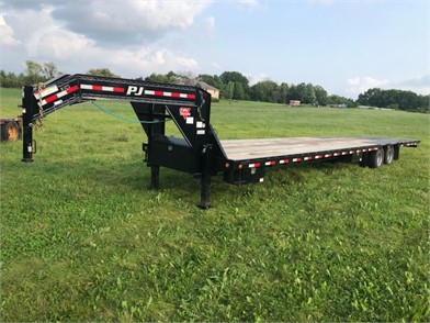 pj flatbed trailers auction results - 78 listings | auctiontime com on  manac trailers,