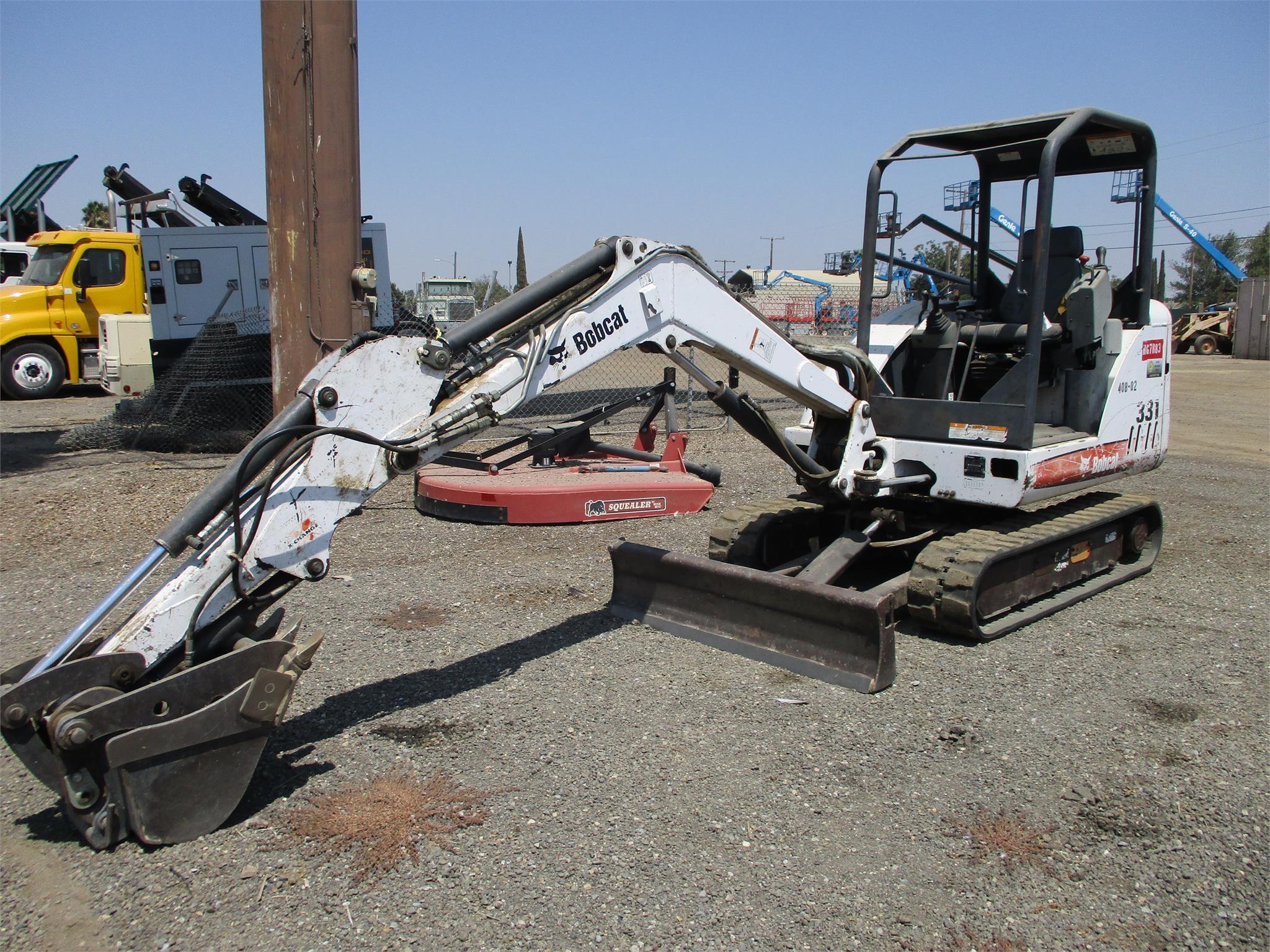 Bobcat 331 Excavators for Sale | CEG