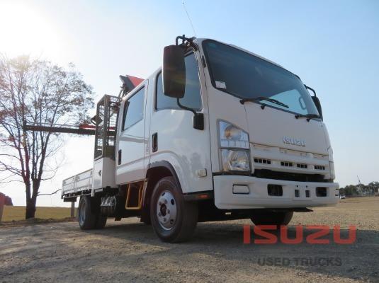 2012 Isuzu NNR 200 Crew Cab AMT Used Isuzu Trucks - Trucks for Sale
