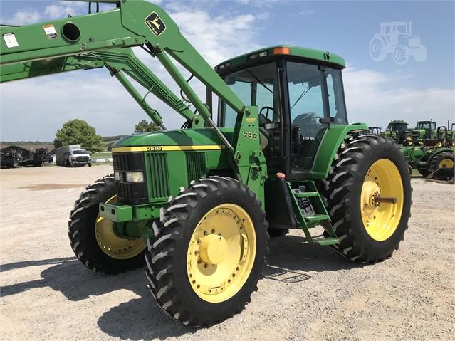 2001 JOHN DEERE 7510 For Sale In Meeker, Oklahoma | www