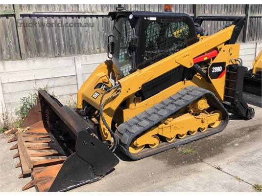 2014 Caterpillar 289D Heavy Machinery for Sale