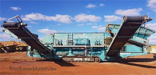 2006 Powerscreen H6203 Heavy Machinery for Sale