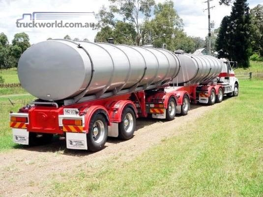 2001 Marshall Lethlean 19m B Double Tanker Set Trailers for Sale