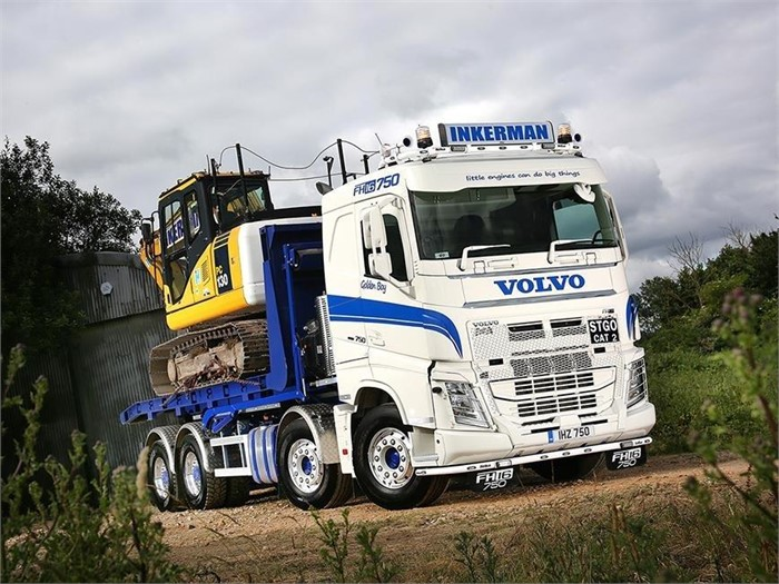 5cf4f8979a Inkerman Hire Services Enlists FH16-750 8x4 Rigid Truck For Heavy-Duty Work