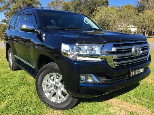 2018 Toyota Landcruiser Wagon light commercial for sale