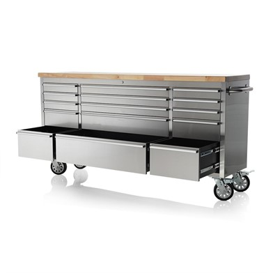 Marvelous Cws New 6 Ft 15 Drawer Stainless Tool Bench 7215W For Sale Gmtry Best Dining Table And Chair Ideas Images Gmtryco