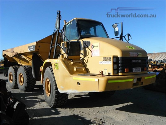 2010 Caterpillar 735 Heavy Machinery for Sale