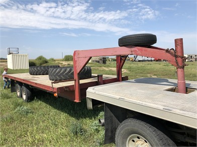 2013 HOMEMADE GOOSENECK 20' FLATBED TRAILER Other Auction