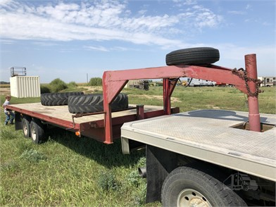 2013 HOMEMADE GOOSENECK 20' FLATBED TRAILER Other Auction Results