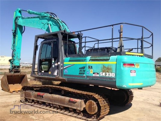 2010 Kobelco SK330-8 - Truckworld.com.au - Heavy Machinery for Sale