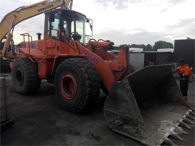 MachineryTrader com   FIAT HITACHI W190 Dismantled Machines