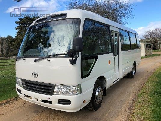 2007 Toyota Coaster Bus - Buses for Sale