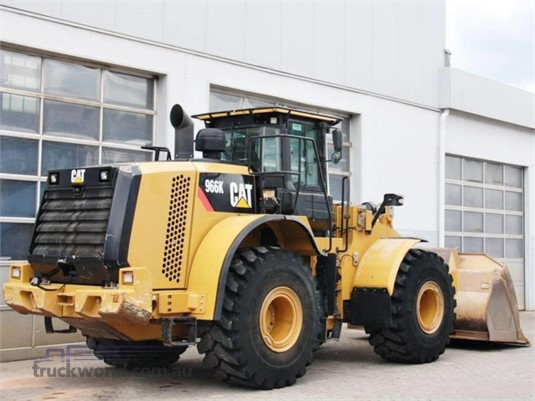 2012 Caterpillar 966K - Heavy Machinery for Sale