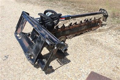 TRENCHER ATTACHMENT FITS SKID STEER Other Auction Results