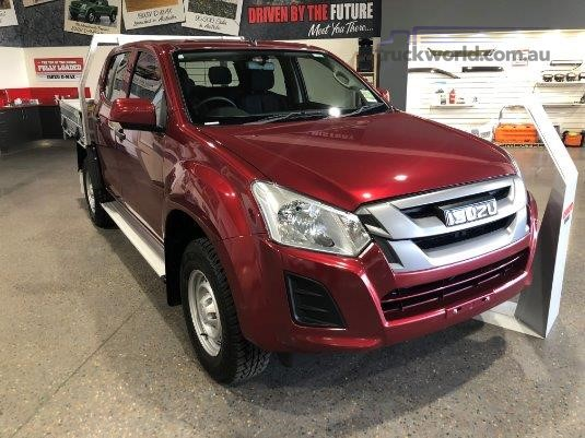 2018 Isuzu UTE D-Max 4x4 Sx Crew Cab Chassis - Light Commercial for Sale