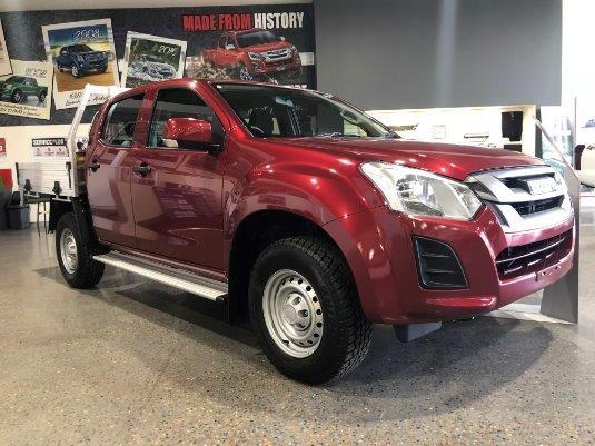 2018 Isuzu UTE D-Max 4x4 Sx Crew Cab Chassis - Truckworld.com.au - Light Commercial for Sale