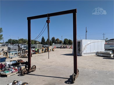 PORTABLE CRANE Other Auction Results - 1 Listings | TruckPaper com