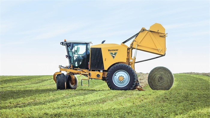 Vermeer Readies First ZR5 Self-Propelled Balers | Tractor