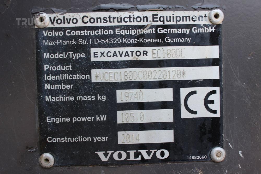 VOLVO EC180DL