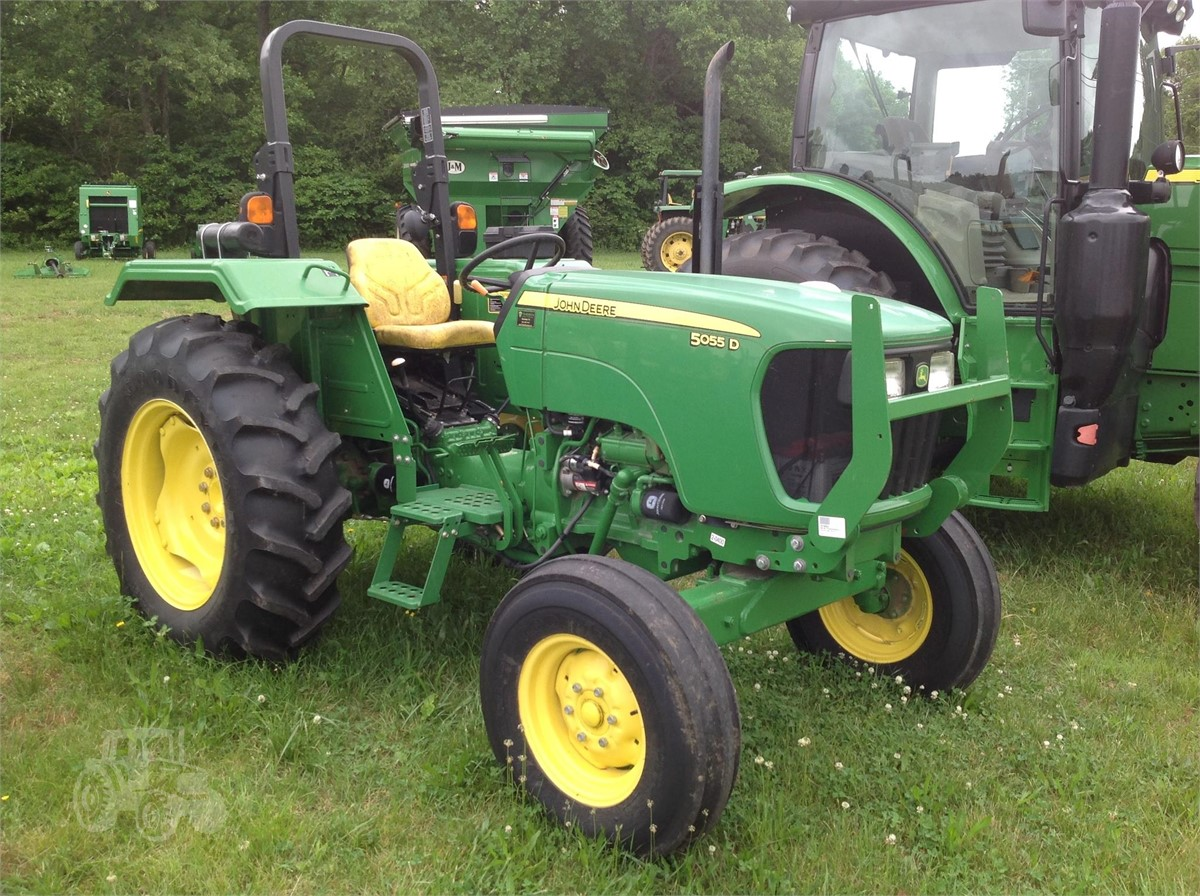 2014 JOHN DEERE 5055D For Sale In MANCHESTER, Tennessee | TractorHouse.com
