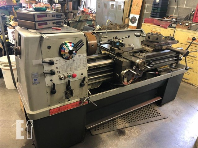 Lot # 271 - CLAUSING COLECHESTER LATHE W/TAIL STOCK