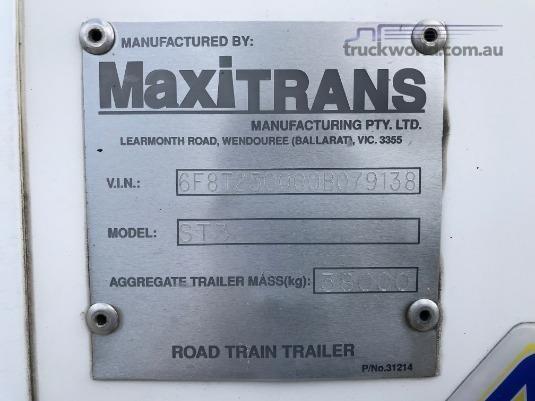 2009 Maxi Cube Refrigerated Van Trailer - Truckworld.com.au - Trailers for Sale