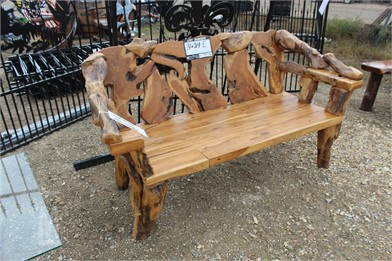 Teak Root 4' Bench Otros Auction Results - 1 Listings