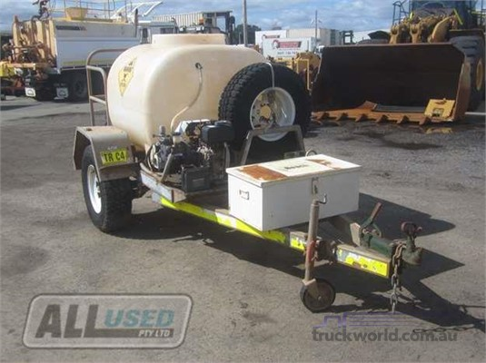 2013 Custom Built Mobile Spray Unit Trailers for Sale