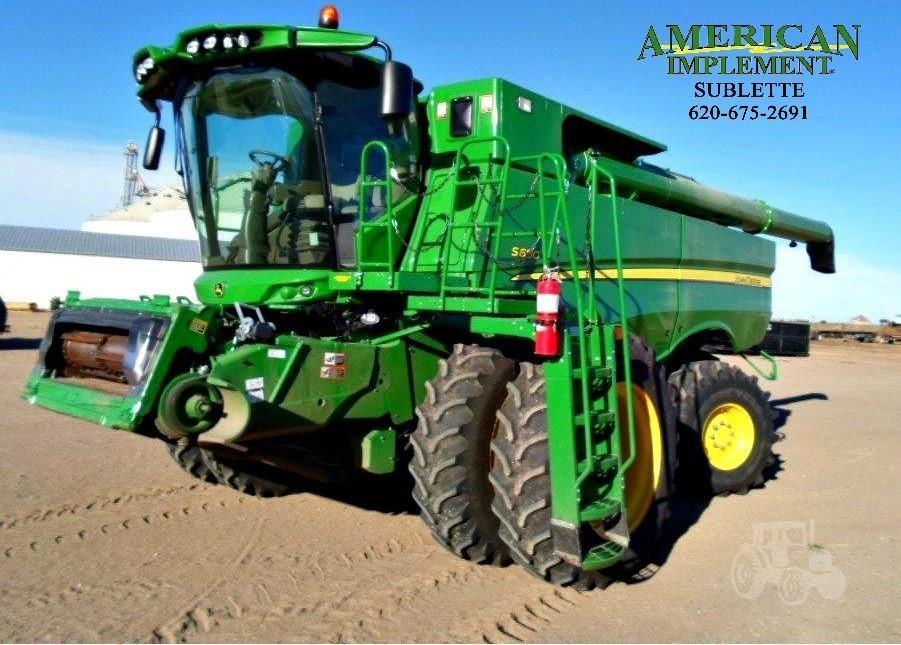 2013 John Deere S680 For Sale In Sublette Kansas