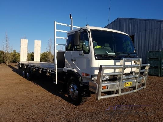 Nissan Diesel Truck >> 1998 Nissan Diesel Ud Pkc310 Table Tray Top Truck For Sale In New