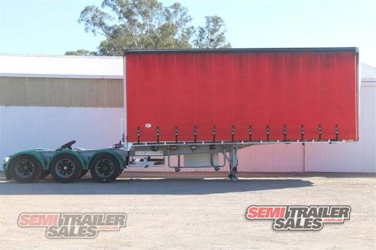 2004 Krueger 12 Pallet Curtainsider A Trailer Semi Trailer Sales - Trailers for Sale
