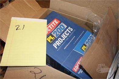 MISC LIQUID NAILS/CONST  ADHESIVE/CAULK/GUTTER COVERS/W Auction