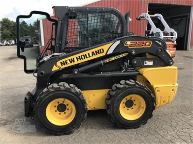 NEW HOLLAND L220 Auction Results In USA - 74 Listings
