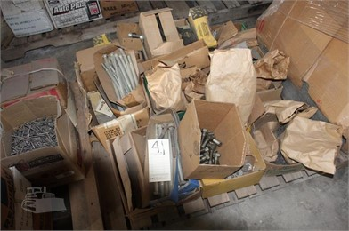 MISC LARGE BOLTS & FASTNERS Auction Results - 1 Listings