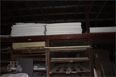 MISC STROFOAM 4X8 FLAT SHEETS & INSULATION BOARDS Auction