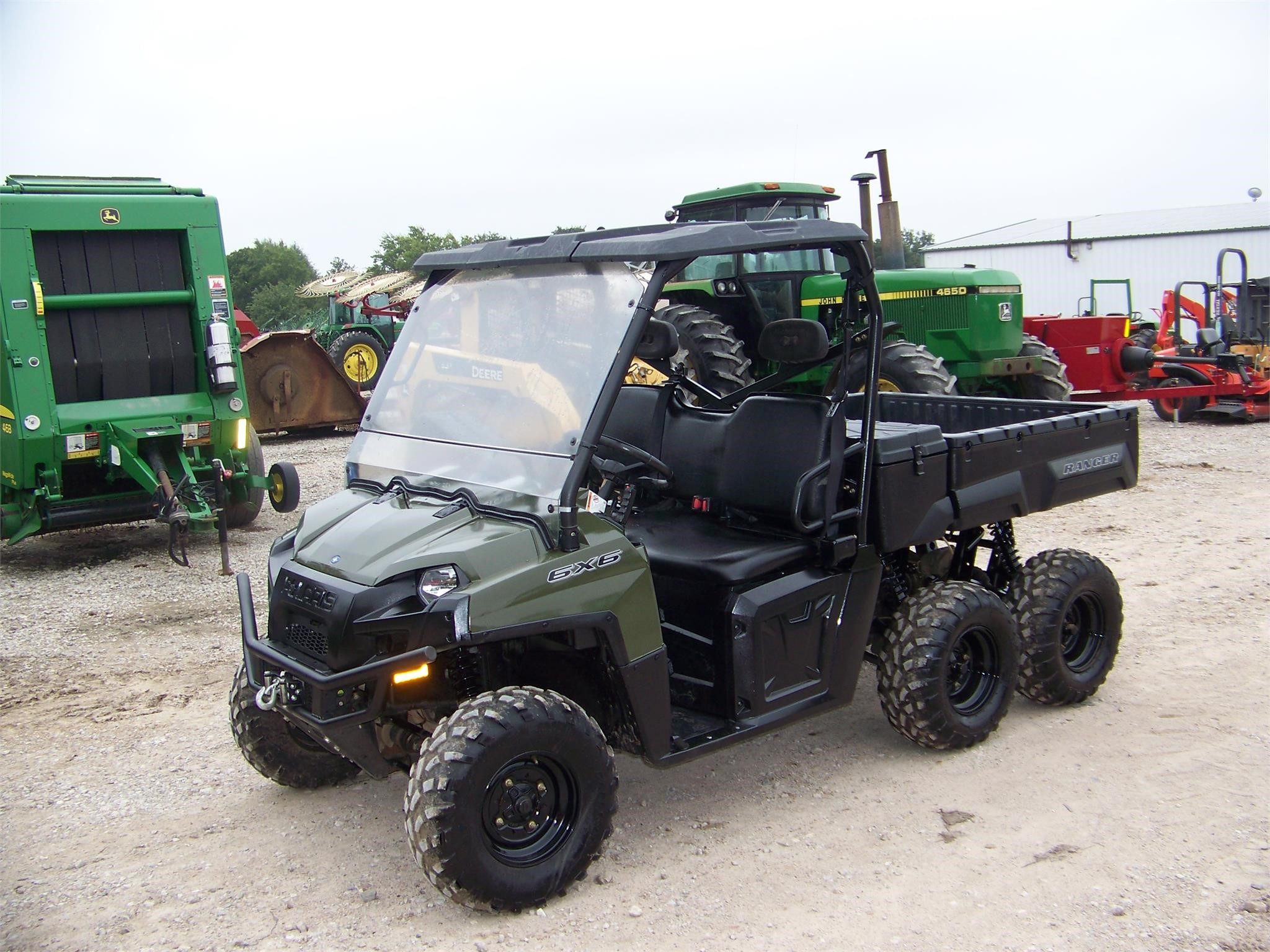 POLARIS RANGER 6X6 Auction Results in Commerce, Texas