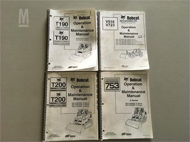 Bobcat Manuals Auction Results - 1 Listings | MarketBook.bz - Page on