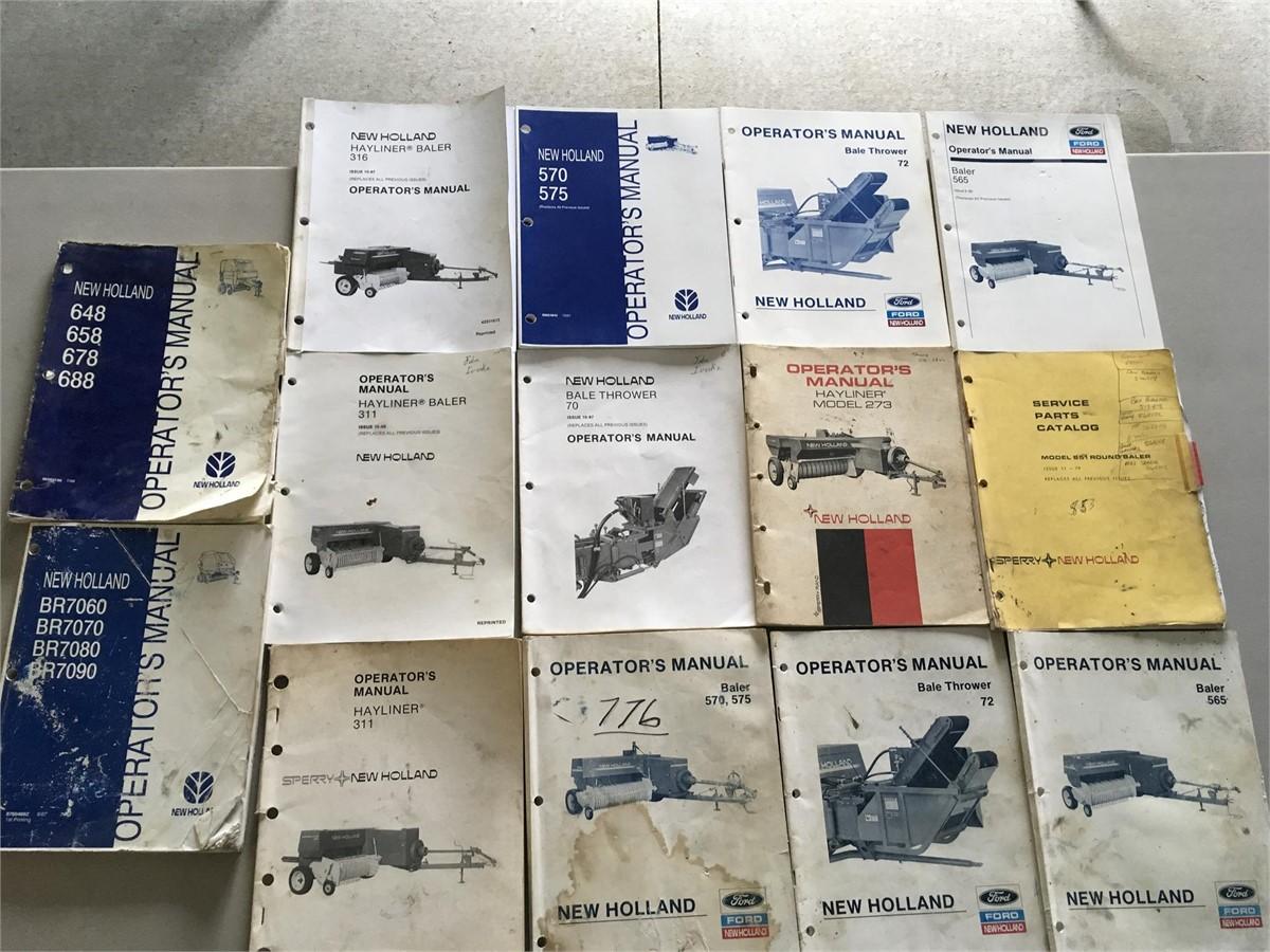 WRG-1635] New Holland 648 Round Baler Operators Manual
