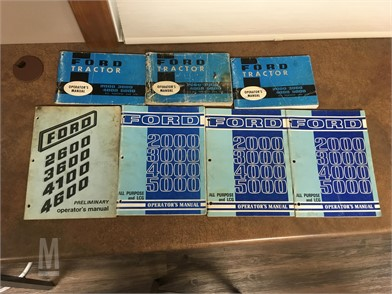 Ford Manuals Auction Results - 10 Listings | MarketBook co