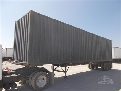Shipping Container Trailer >> Intermodal Container Trailers For Sale 330 Listings