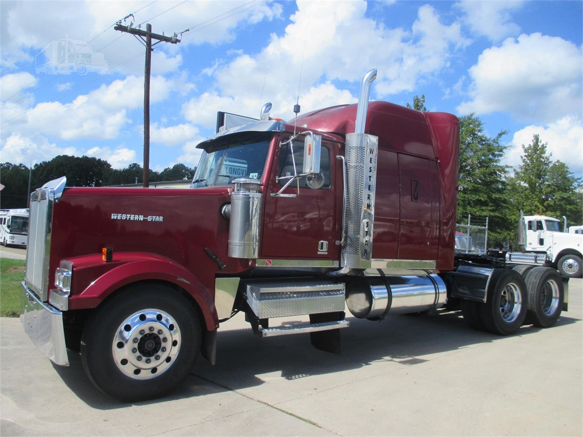 2004 western star 4900ex for sale in longview texas. Black Bedroom Furniture Sets. Home Design Ideas