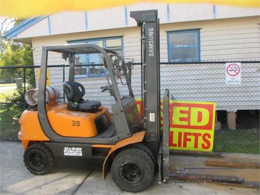 2000 Samsung SF25L - Truckworld.com.au - Forklifts for Sale