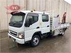 2010 Mitsubishi Canter 4.0 Crane Truck