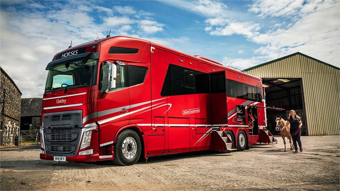 Wicks Group Puts New Volvo Fh 460 Based Horsebox Into