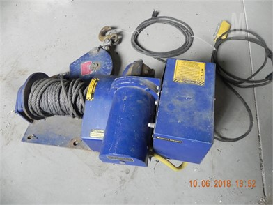 My-Te Winch/Hoist Scales / Hoists Shop / Warehouse Auction Results on