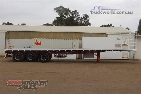 2011 Maxitrans Flat Top Trailer - Truckworld.com.au - Trailers for Sale